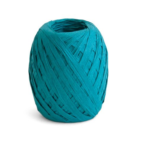 ribbon/crepe paper/45m/teal