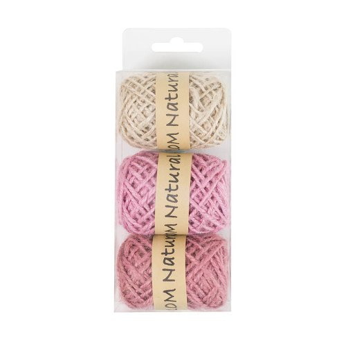 ribbon/box/10m/3 colours assorted