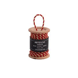 cord/5mm x 5m/wood spool/6,6 x 5cm