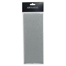 tissue paper/50x76cm/4 pcs./silver