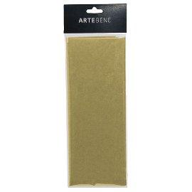 tissue paper/50x76cm/4 pcs./gold