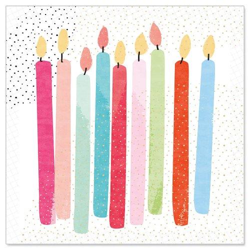Minikarte Kerzen