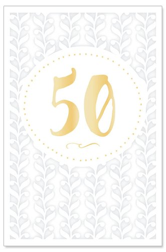 Hochzeitskarte 50 Jahre Lasercut