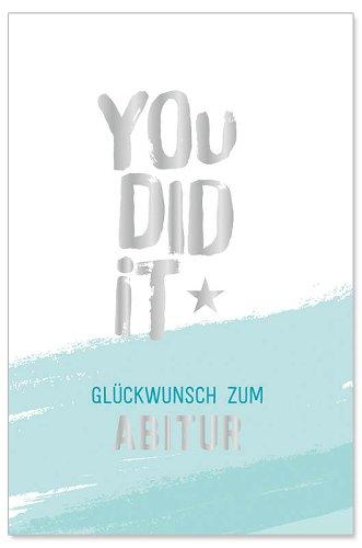 Karte Abitur You did it