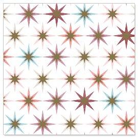 Minikarte Weihnachten Sterne