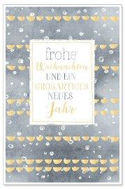 Weihnachtskarte Frohe Weihnachten