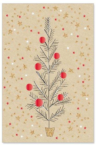 Grußkarte Tannenbaum