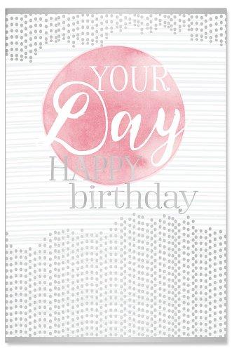 Geburtstagskarte Your day