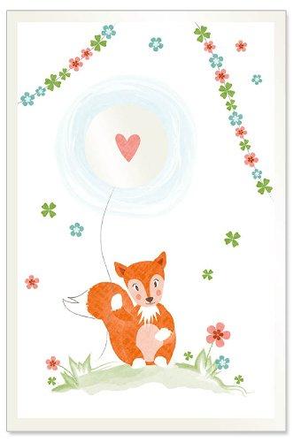 Karte Baby Fuchs