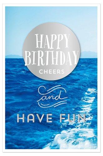 Geburtstagskarte Ocean Have Fun