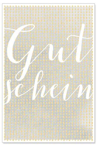 Karte Gutschein