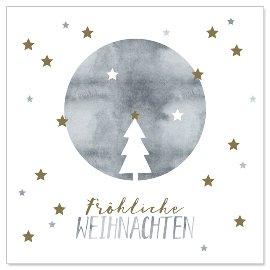 Minikarte Weihnachten Tannenbaum