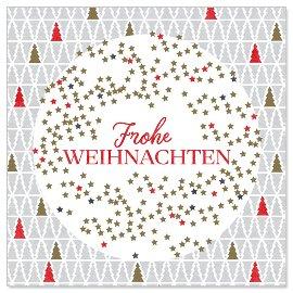 Minikarte Frohe Weihnachten