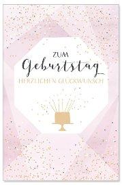 Geburtstagskarte Torte