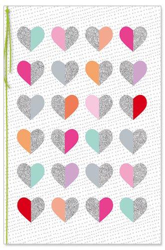 Grußkarte Herzen
