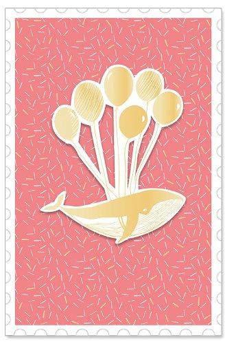 Geburtstagskarte Wal