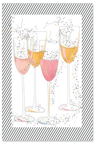 greeting card/glitter