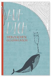 Geburtstagskarte Wal Auf Dich