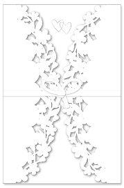 Hochzeitskarte Blumen