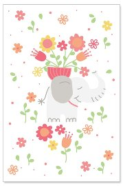 greeting card/stitchery