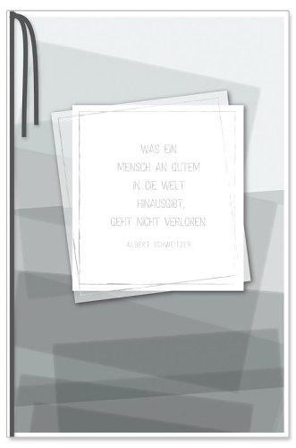 Trauerkarte Typographie