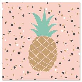 Minikarte/Ananas