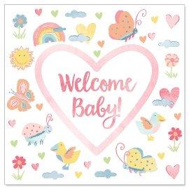 Minikarte Welcome Baby