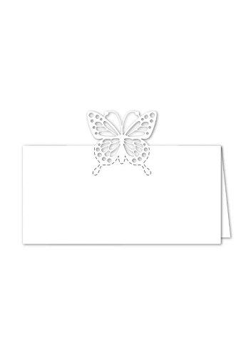 Tischkärtchen Hochzeit Schmetterling