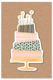 greeting card/foil/glitter