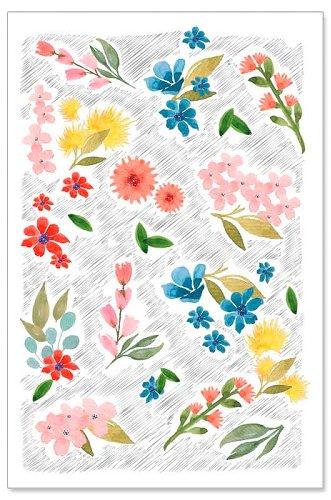Grußkarte Blumen