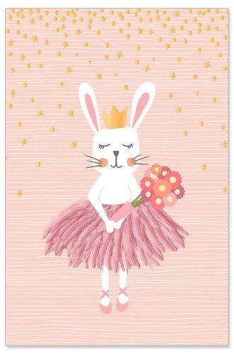 Grußkarte Kids Hase