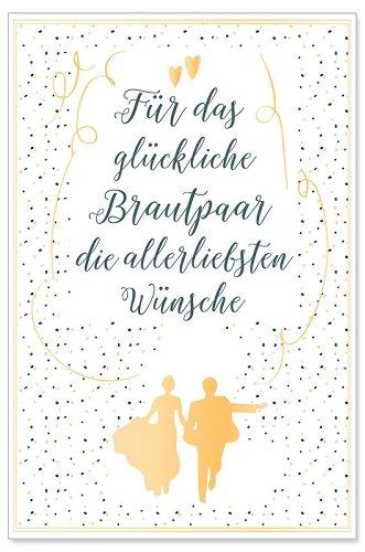 Hochzeitskarte Spruch Brautpaar