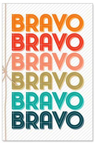 Grußkarte Bravo Schleife