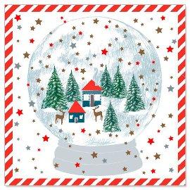 Minikarte Schneekugel