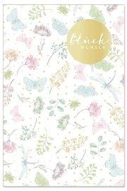 Glückwunschkarte Blüten