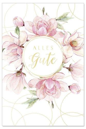 Birthday card magnolia