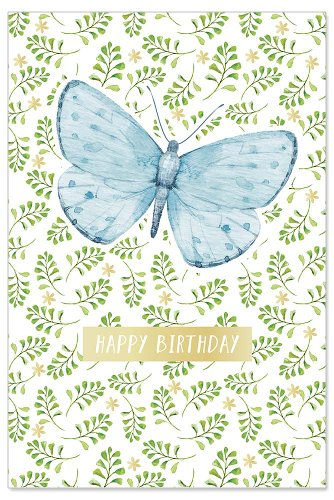 Birthday card butterfly