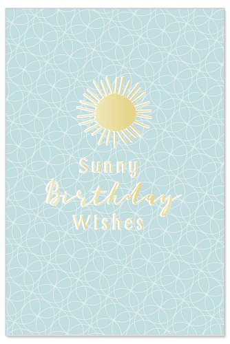 Birthday card confetti