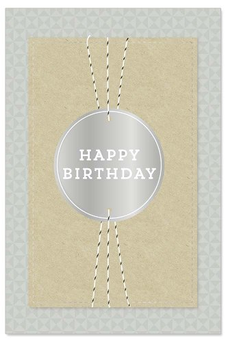 Birthday card ribbon 3D