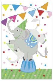 Geburtstagskarte Kids Lentikular Elefant