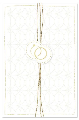 Wedding card ribbon