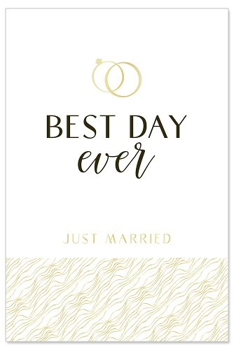 Wedding card Best day ever
