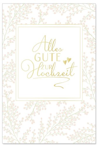 Hochzeitskarte Best Day Ever Spruch Just Married