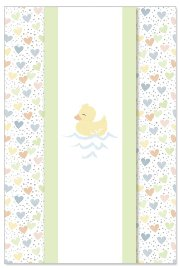 Card baby duckling