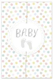 Karte Baby Füßchen