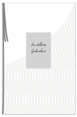 Mourning card In stillem Gedenken 3D