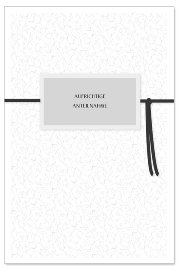 Mourning card Aufrichtige Anteilnahme 3D