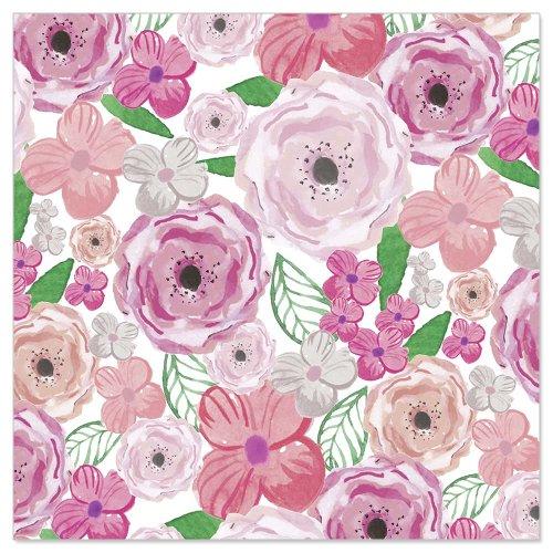 Minikarte Blütencollage
