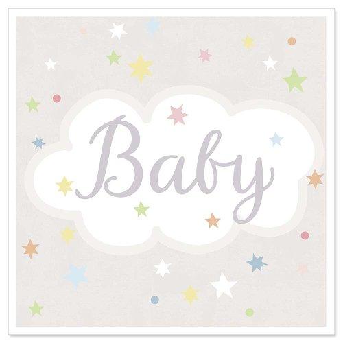 Mini card baby stars