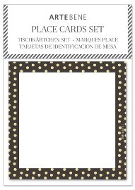 Place cards dots 10 pcs.